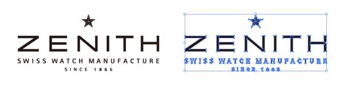 ゼニス(ZENITH)のロゴマーク