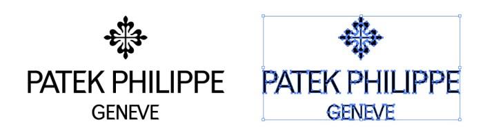 パテック・フィリップ(Patek Philippe)のロゴマーク