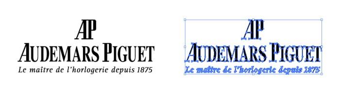 オーデマ・ピゲ(AUDEMARS PIGUET)のロゴマーク