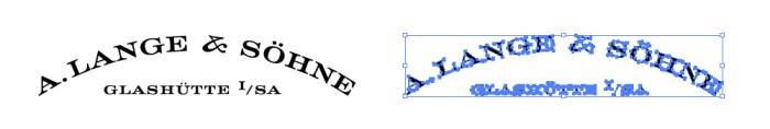 A.ランゲ&ゾーネ(A. LANGE & SOHNE)のロゴマーク