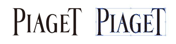 ピアジェ(PIAGET)のロゴマーク