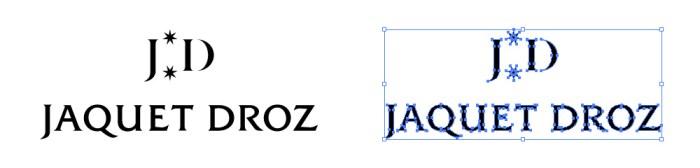 ジャケ・ドロー(Jaquet Droz)のロゴマーク