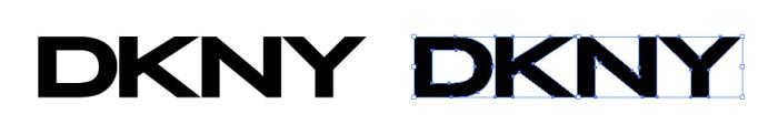 ダナキャランニューヨーク(DKNY)のロゴマーク