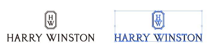 ハリー・ウィンストン(Harry Winston)のロゴマーク