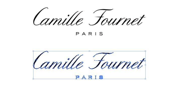 カミーユフォルネ(Camille Fournet)のロゴマーク