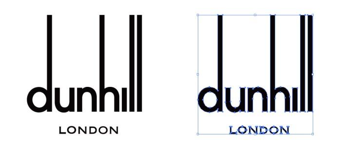 ダンヒル (Dunhill)のロゴマーク