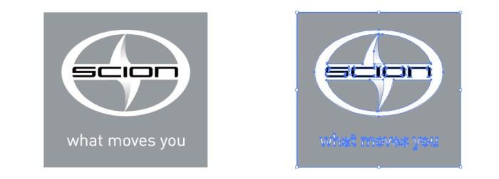 サイオン (Scion) のロゴマーク