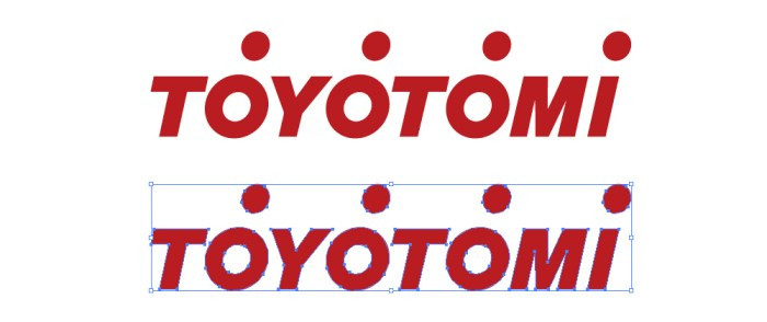 トヨトミ(TOYOTOMI)のロゴマーク