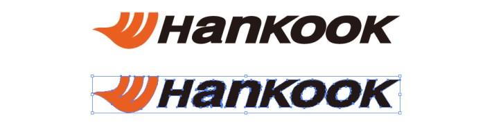 ハンコックタイヤ(Hankook)のロゴマーク
