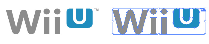 Wii U(ウィー ユー)のロゴマーク