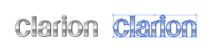 クラリオン(Clarion)のロゴマーク