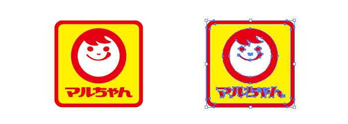 マルちゃんのロゴマーク