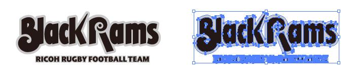 リコーブラックラムズのロゴマーク