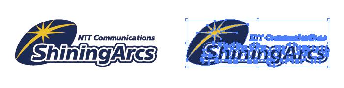 NTTコミュニケーションズシャイニングアークスのロゴマーク