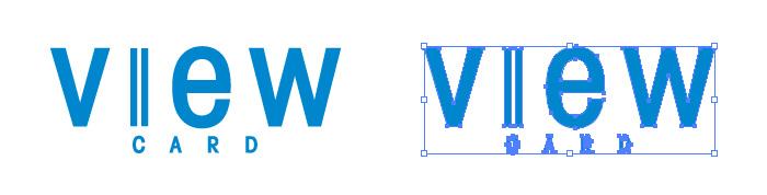 ビューカード(View Card)のロゴマーク