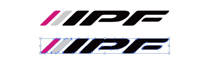 IPF(アイピーエフ)のロゴマーク