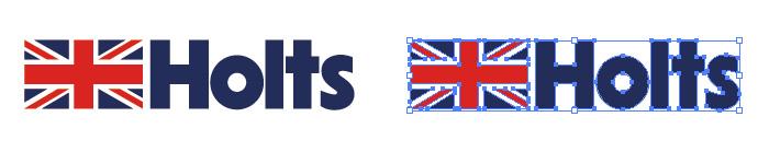 Holts(ホルツ)のロゴマーク