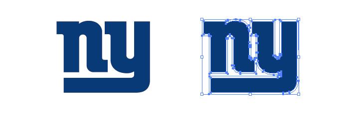 ニューヨーク・ジャイアンツ(New York Giants)のロゴマーク