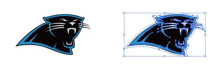 カロライナ・パンサーズ(Carolina Panthers)のロゴマーク