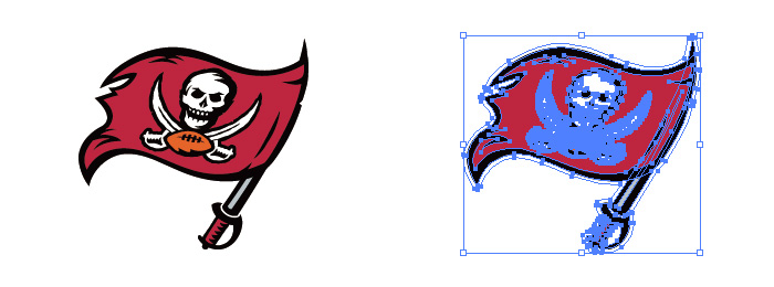 タンパベイ・バッカニアーズ(Tampa Bay Buccaneers)のロゴマーク