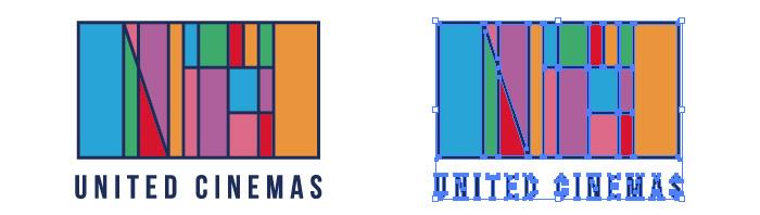 ユナイテッド・シネマ(UNITED CINEMAS)のロゴマーク
