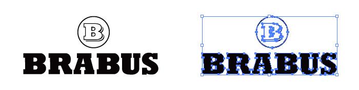 ブラバス(Brabus)のロゴマーク