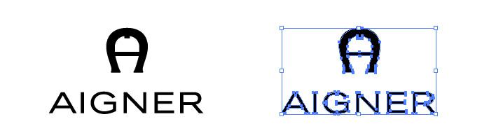 アイグナー(AIGNER)のロゴマーク