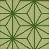 麻の葉柄のパターン素材