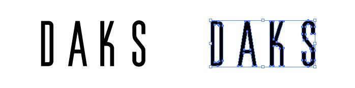 ダックス(DAKS)のロゴマーク