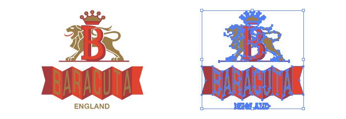 バラクータ(Baracuta)のロゴマーク