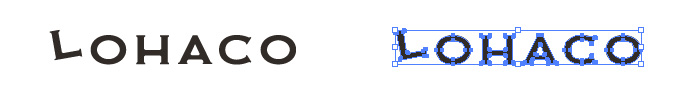 ロハコ(LOHACO)のロゴマーク
