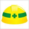 安全ヘルメットのイラスト