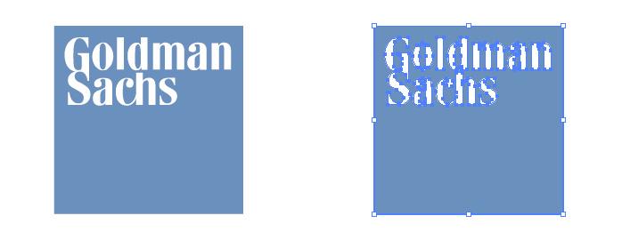 ゴールドマン・サックス(Goldman Sachs)のロゴマーク