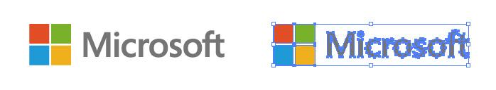 マイクロソフト(Microsoft)のロゴマーク