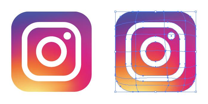 新しくなったインスタグラム Instagram アイコンマーク
