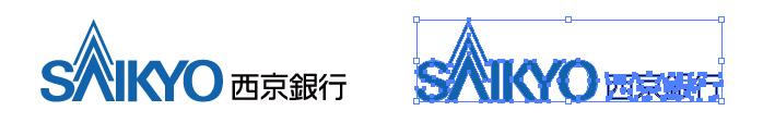 西京銀行のロゴマーク