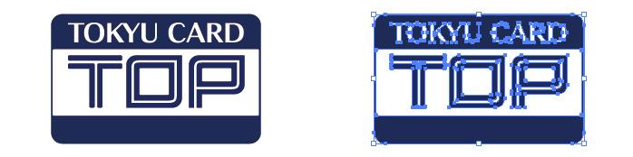 東急カード(TOUKYU CARD TOP)のロゴマーク