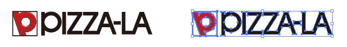 ピザーラ(PIZZA-LA)のロゴマーク