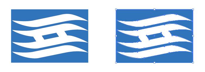 兵庫県旗のロゴ・シンボルマーク