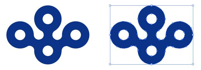 大阪府章のロゴ・シンボルマーク