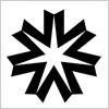 北海道章のロゴ・シンボルマーク
