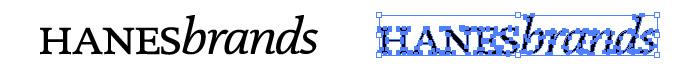 Hanesbrandsのロゴマーク