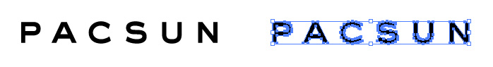 PacSun(パシフィック・サンウェア)のロゴマーク
