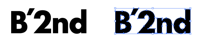 B'2nd(ビーセカンド) のロゴマーク