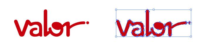 バロー(valor)のロゴマーク