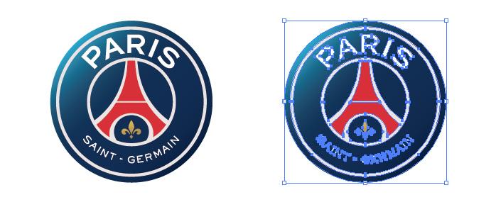 パリ・サンジェルマンFCのロゴマーク