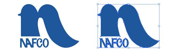 ナフコ(NAFCO)のロゴマーク