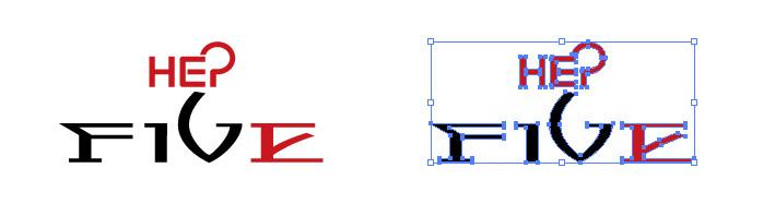 HEP FIVE(ヘップファイブ)のロゴマーク