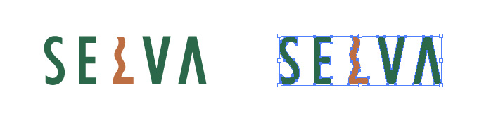 SELVA(セルバ)のロゴマーク