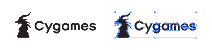 Cygames(サイゲームス)のロゴマーク